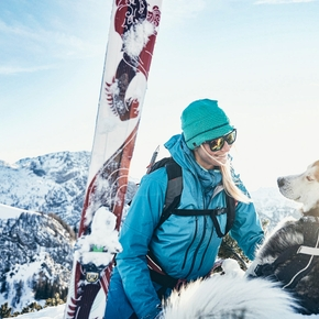 Best tips when ski mountaineering with your dog