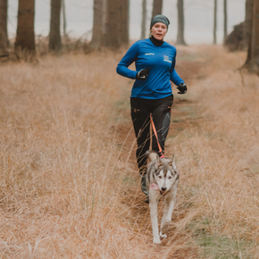 How to warm up and cool down your dog for canicross and bikejoring