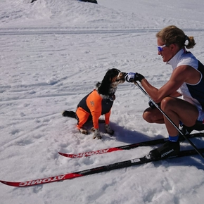 Olympic athlete Kathrine: - Keira makes the trainings better